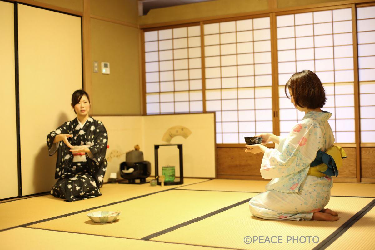 Tea Ceremony Koto in Kyoto Japan - YouTube