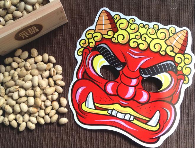 enjoy  u201csetsubun u201d  bean throwing ceremony